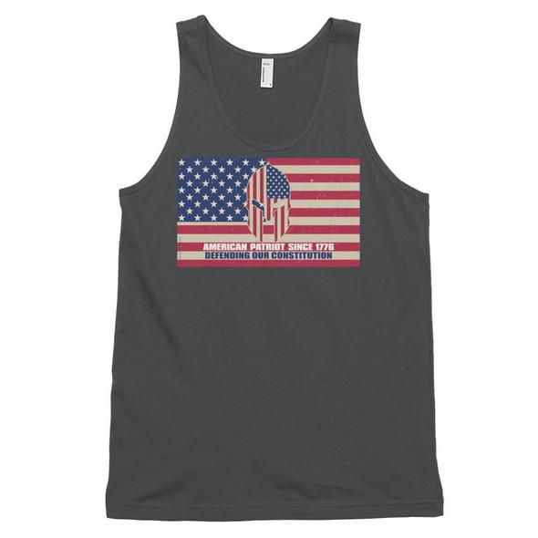 American Patriot Defending Our Constitution Classic tank top (unisex)