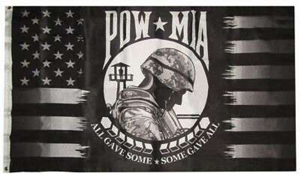 USA POW MIA All Gave Some, Some Gave All Flag 3 X 5 ft. Standard
