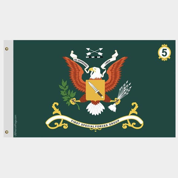 Fifth Special Forces Group Flag 5th Battalion - Made in USA