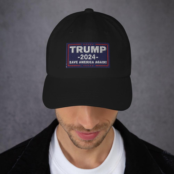 Trump 2024 Save America Again Dad hat