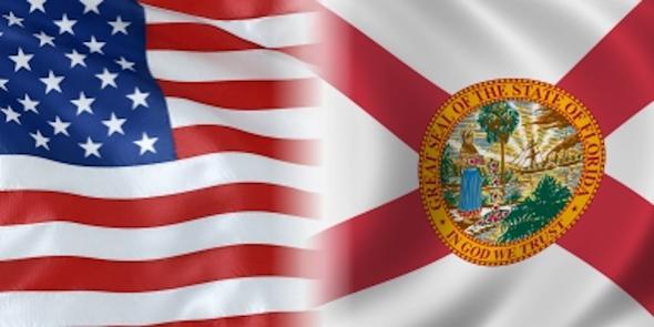 USA Florida Flag - Made in USA