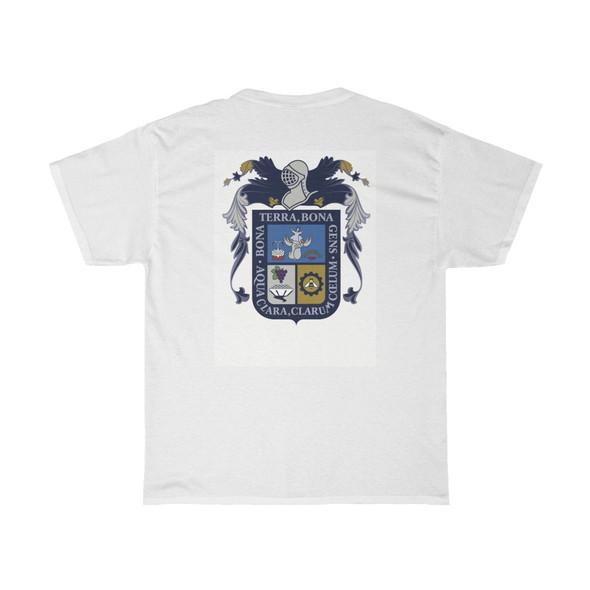 Bandera de Aguascalientes Unisex Heavy Cotton Tee