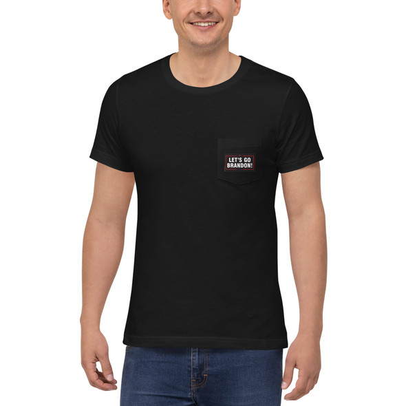 Lets Go Brandon Unisex Pocket T-Shirt