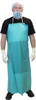 "20 MIL 36""X50"" Green PVC Apron, Stomach Patch, Sold Individually, 9"