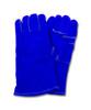 """A"" Grade Gunn Cut Blue Leather Welders, Kevlar Stitching, 1DZ Pair"