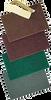 """NORTON 79600 6"""" X 9"""" GREEN NON WOVEN HAND PAD BULK PK 1/20 - 20ct. Case"""