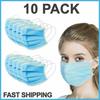 Disposable Medical Masks (Non-Sterile) - 10 pcs