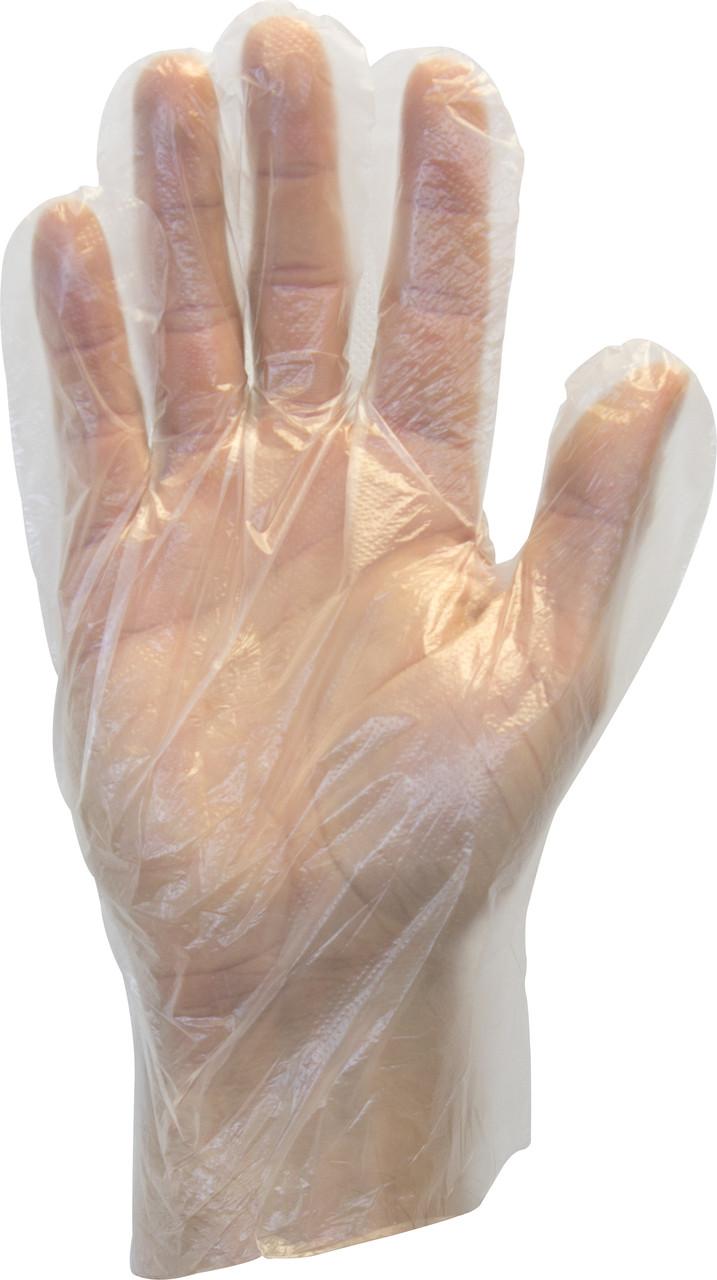 Clear Low Density Polyethylene Glove, 100/BX 10BX/Carton 10Cartons