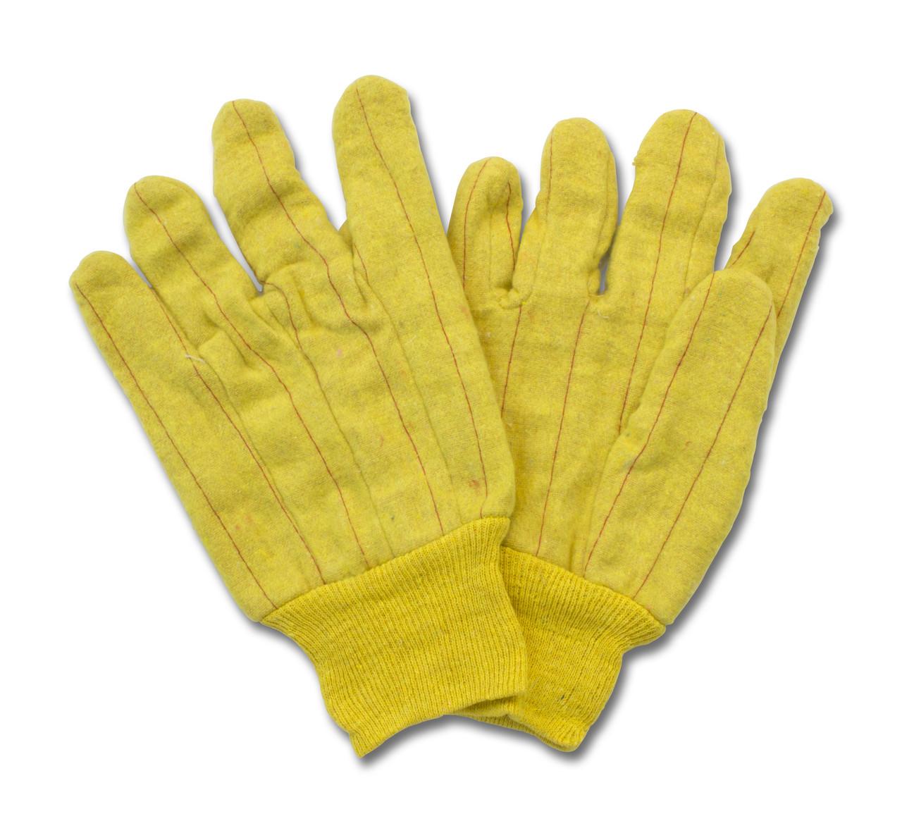 17 Oz. Golden Fleece Chore, Knit Wrist, 1DZ Pair/Bag 10DZ/CS, One Siz