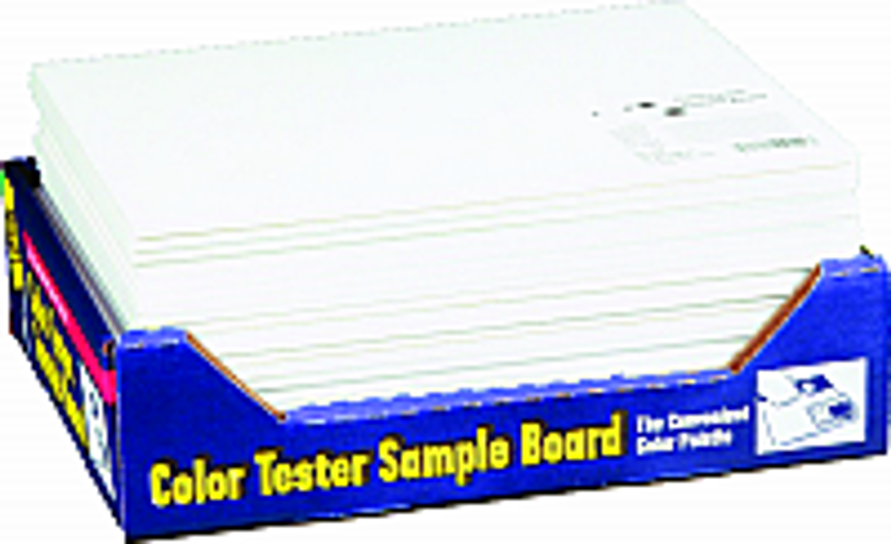 FOAMPRO 01200 COLOR TESTER BOARD PK 1/24