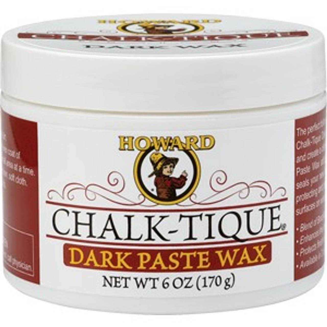 Howard CTPW07 6 oz. Chalk-Tique Dark Paste Wax