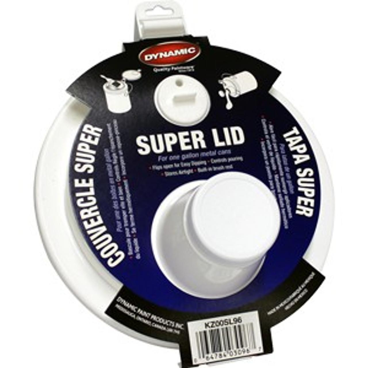Dynamic KZ00SL96 Super Lid 2 Piece Lid w/ Spout For Gallon Cans