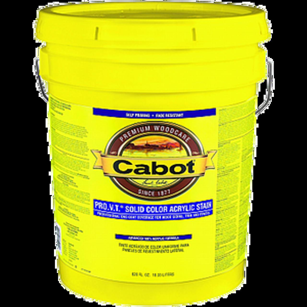CABOT 0801 5G WHITE BASE PRO V.T. SOLID ACRYLIC