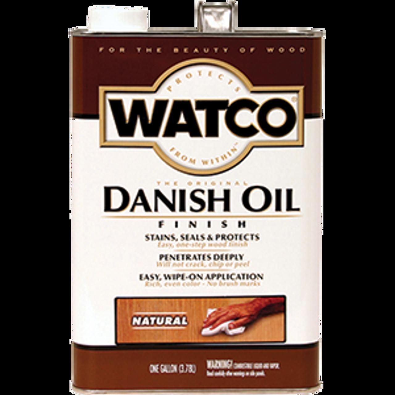 WATCO 65731 1G NATURAL DANISH OIL