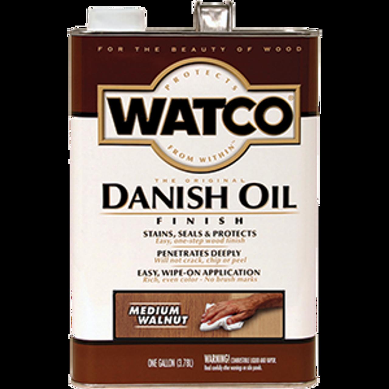 WATCO 65931 1G MEDIUM WALNUT DANISH OIL