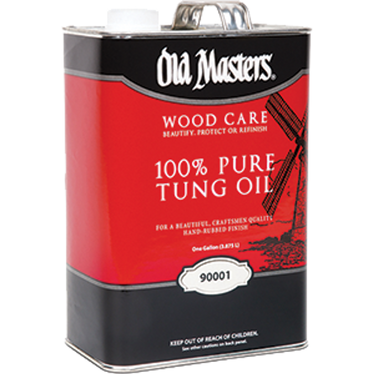 OLD MASTERS 90001 1G 100% PURE TUNG OIL