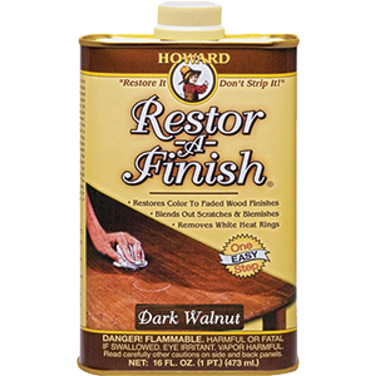 HOWARD RF6016 16OZ DARK WALNUT RESTOR-A-FINISH