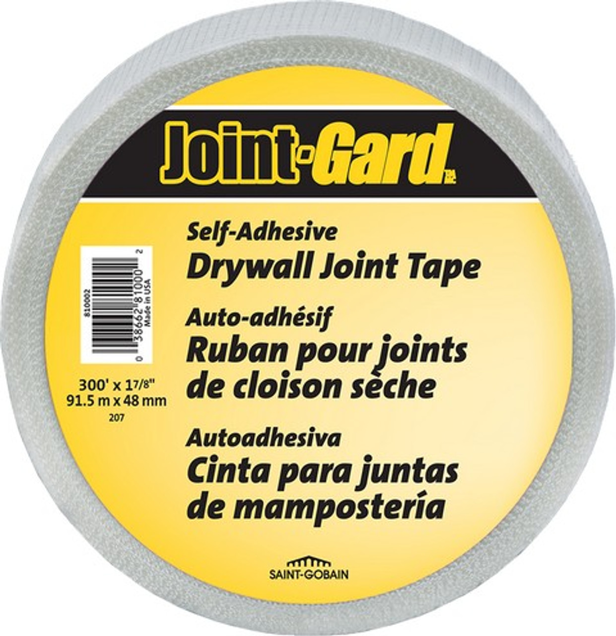 """JOINT GARD FDW7984-H 1-7/8"""" X 300' WHITE SELF ADHESIVE MESH JOINT TAPE"""