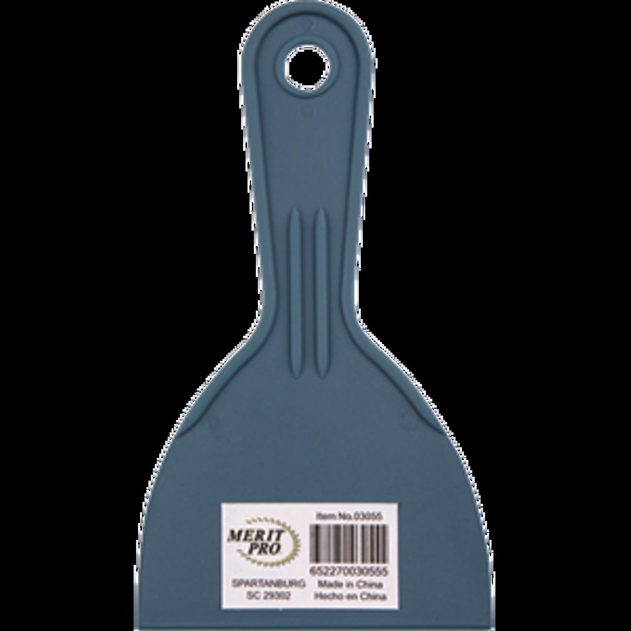 "MERIT PRO 03055 4"" PLASTIC PUTTY KNIFE"