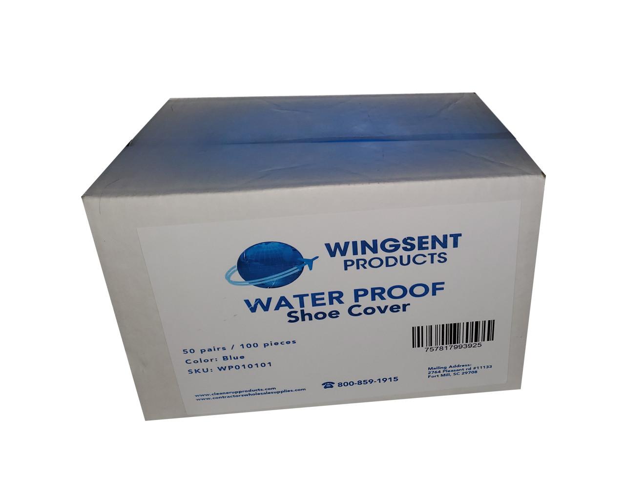 Wingsent Waterproof Shoe Covers 50 pairs