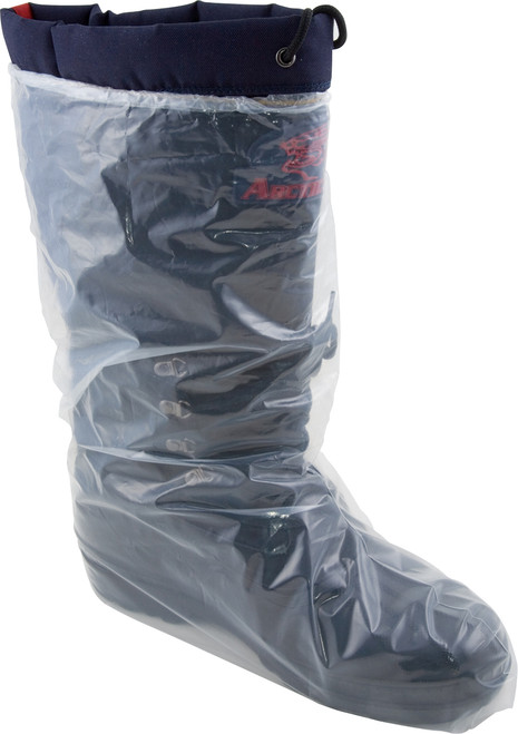5 MIL, Clear Polyethylene Boot Cover, Elastic Top, 50/BX 10BX/CS, XL-