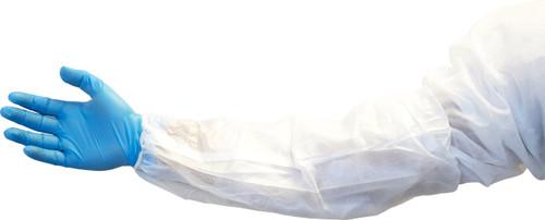 """18"""" White Polyethylene Coated Polypropylene Sleeve, 200/CS"""