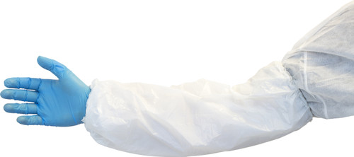 "18"" White Polyethylene Sleeve, 1,000/CS"
