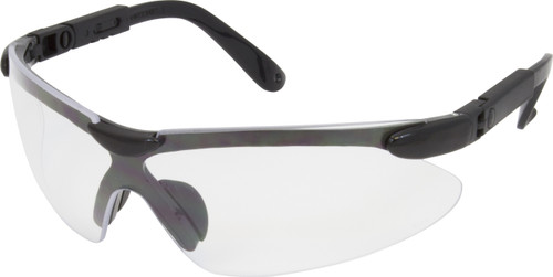 Wrap Around Style, Black, Blue or USA Frame, Clear with Articulating A