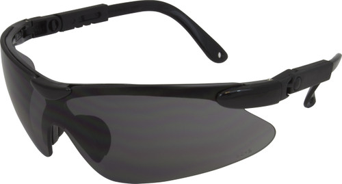 Wrap Around Style, Black, Blue or USA Frame, Smoke Lens with Articul