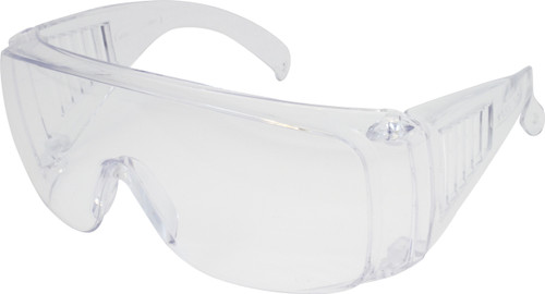 Visitor Specs, Clear Frame & Clear Lens, ANSI Z87+ Approved, 12Pair/