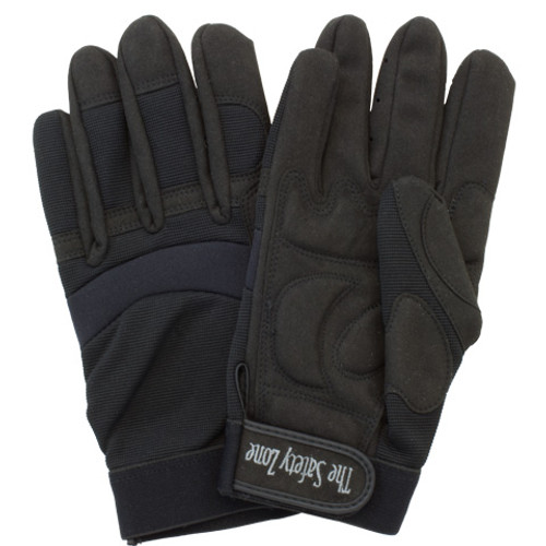 High Dexterity Glove, Stretch Nylon Back & Vibration Absorbing Palm,