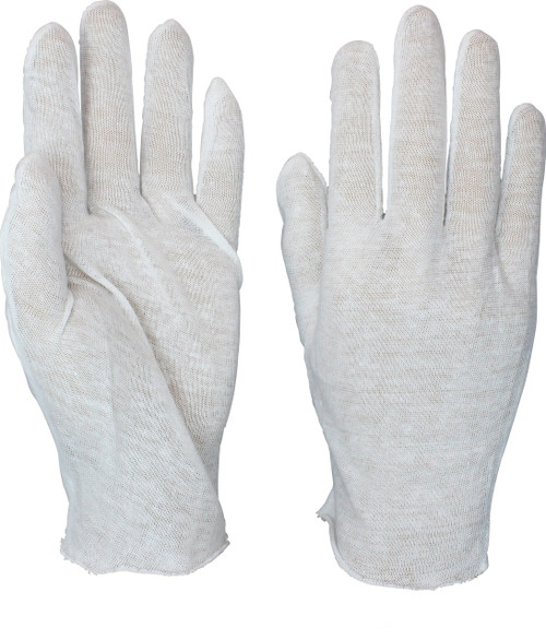 100% Cotton Lisle Light Weight Inspector Glove, 1DZ Pair/Bag 100DZ 100 DZ