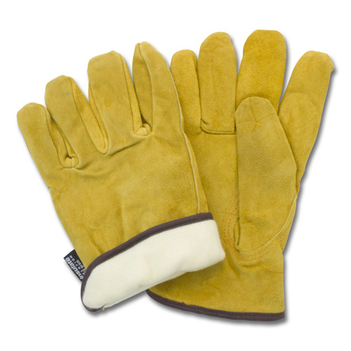 Split Cow Leather Drivers, Keystone Thumb, Thinsulate  Lining, 1DZ Pai