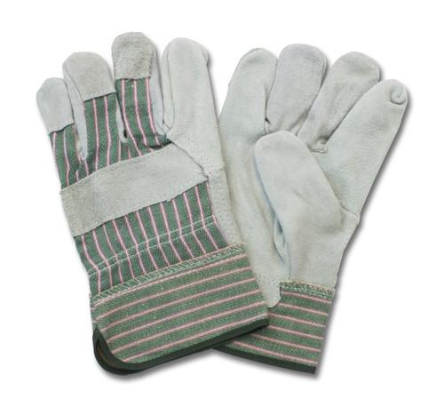 """A/B"" Grade, Gunn Leather Palm, Rubberized Safety Cuff, 10DZ/CS,"