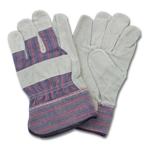 """B"" Grade, Gunn Leather Palm, Rubberized Safety Cuff, 10DZ/CS, Me"