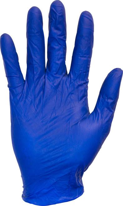 5 MIL, Blue Powdered Latex, 100/BX 10BX/CS, SM-XL