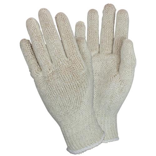 Light Weight Cotton Polyester String Knit, 1DZ Pair/Bag 40DZ/CS, LG   40 DZ