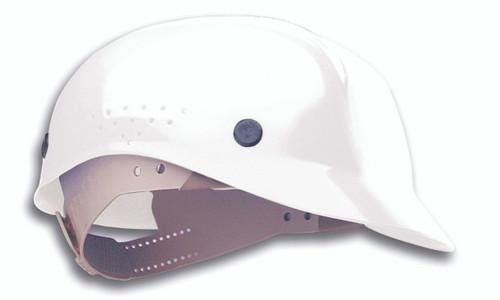 Honeywell Peak White HDPE Shell Hard Hat, 4-PT Pinlock Suspension,
