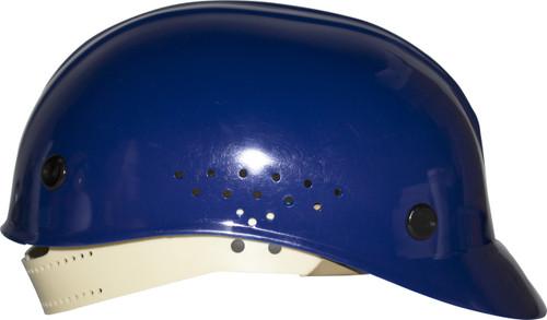Honeywell White Vented Deluxe Bump Cap, HDPE Shell, Pinlock Suspe
