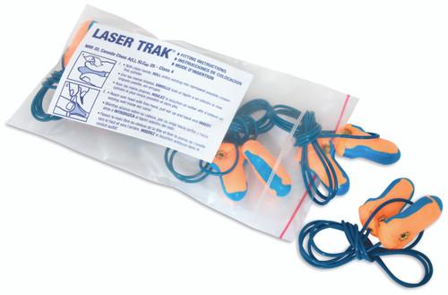 Howard Leight Laser Track  Metal Detectable Corded Ear Plug, 32 NRR,