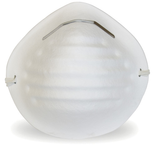 White Cone Non-Rated Nuisance Level Dust Mask, 50/BX 20BX/CS