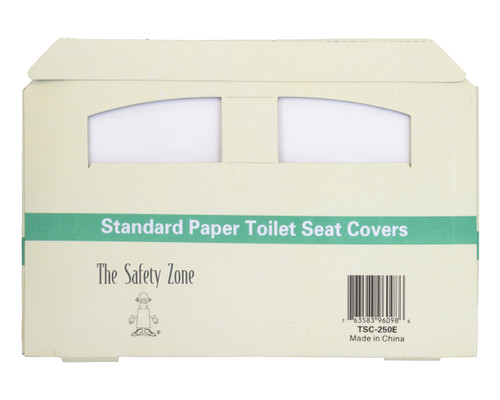 Standard Paper Toilet Seat Covers, 250BX 20BX/CS