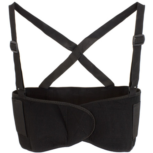 Back Support, Detachable Suspenders, Sold By The Each, 2X-4X