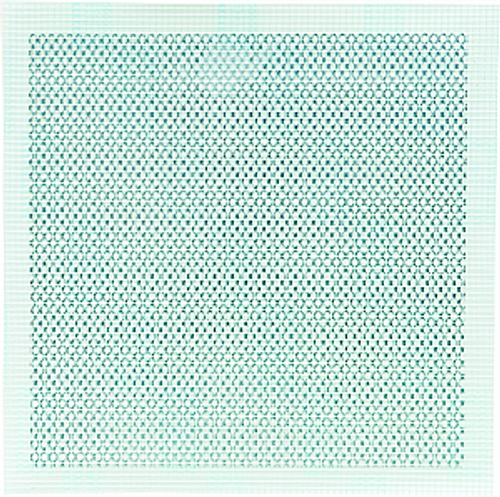 """HYDE 09007 8"""" X 8"""" ALUMINUM SELF ADHESIVE WALL PATCH"""