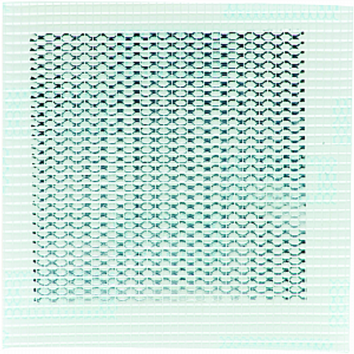 """HYDE 09898 4"""" X 4"""" ALUMINUM SELF ADHESIVE WALL PATCH"""