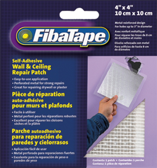 "FIBATAPE FDW6836-U 4"" X 4"" ALUMINUM PERFORATED WALL AND CEILING PATCHES"