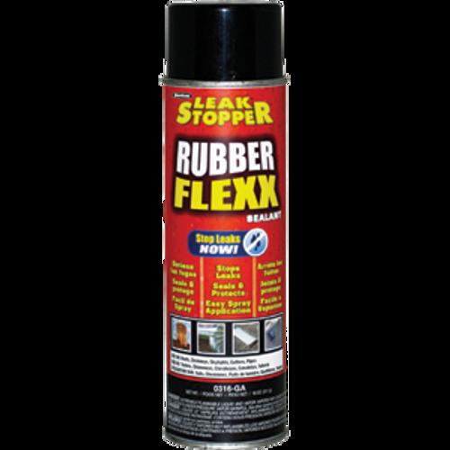 GARDNER-GIBSON 0316-GA 18OZ BLACK LEAK STOPPER RUBBER FLEXX SPRAY SEALANT
