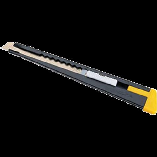 OLFA 180 9MM 13PT MULTI PURPOSE METAL HANDLE SNAP OFF CUTTER - 6ct. Case