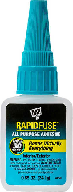 Dap 00155 .85oz Rapid Fuse All Purpose Adhesive