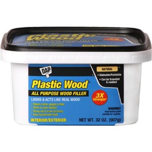 Dap 00525 32 oz. Natural Latex Plastic Wood